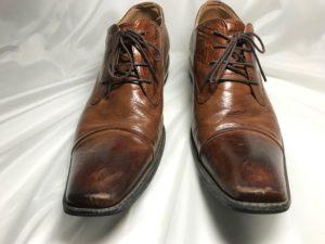 [革靴]BumpN`GRIND つま先部分補修