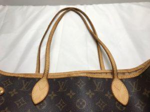 [Louis Vuitton] ルイヴィトン トートバッグ持ち手・ヘリ巻革交換
