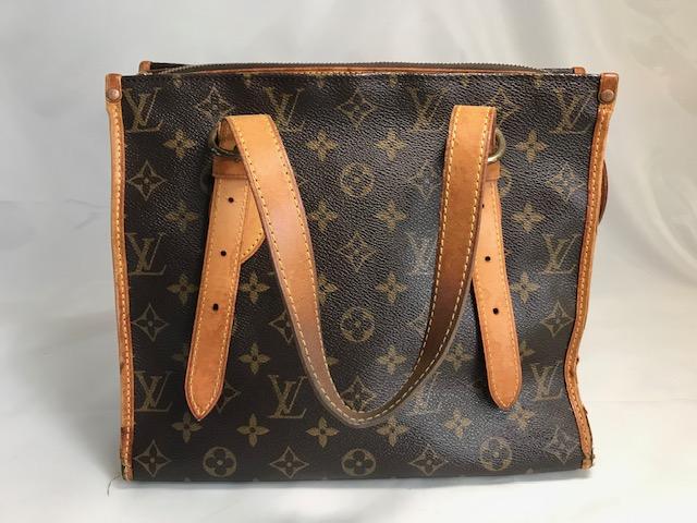 [Louis Vuitton] モノグラムバッグの持ち手・へり巻き革交換