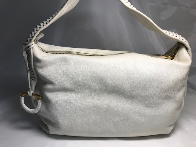 [Salvatore Ferragamo]  サルヴァトーレ フェラガモ ワンハンドバッグ全体補色補修