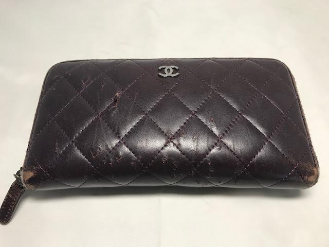[CHANEL] 財布の修理