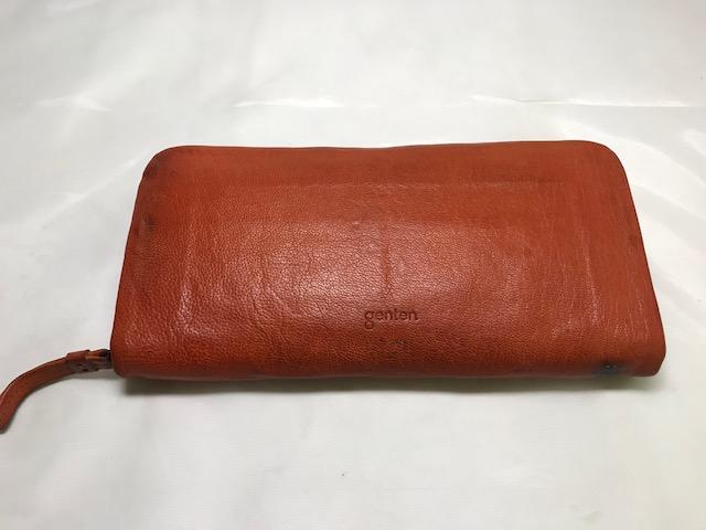 [GENTEN]  財布の染め直し修理